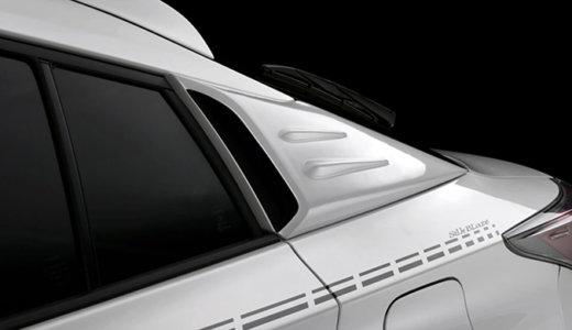 貼るだけで、トヨタ・プリウス&プリウスPHVのCピラーがスポーティーに!!