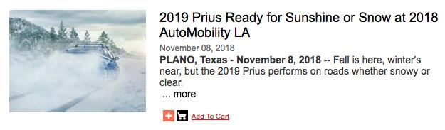 新型プリウス