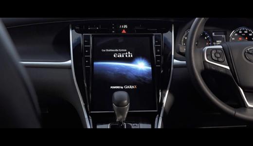 電撃スクープ第2弾 60ハリアー用が追加!次世代カーマルチメディアシステム・GARAX Earth