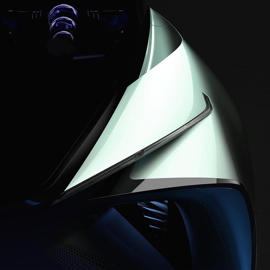 レクサスEVコンセプトカー