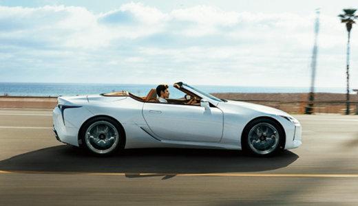 V8エンジン搭載の国産最強オープンカー<br>〜LEXUS LC500コンバーチブル、今夏デビュー!〜