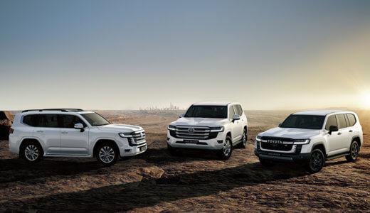 SUVの真打ちが全面刷新!300系ランドクルーザーが今夏以降にデビュー!